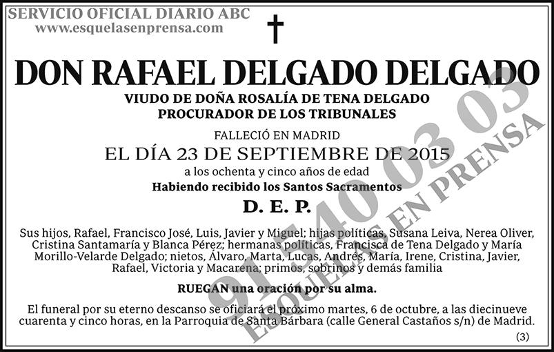Rafael Delgado Delgado